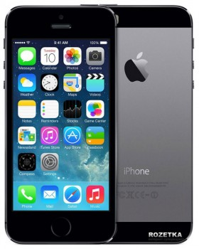 Apple iPhone 5s 16GB Space Gray (FE432UA/A) как новый Original factory refurbished by Apple