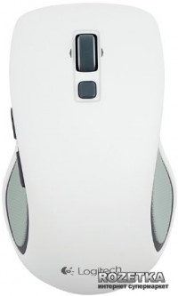 Мышь Logitech Wireless Mouse M560 (910-003913) White (163604659) - Уценка