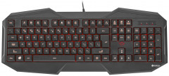 Клавиатура Trust GXT 830 Gaming Keyboard Ukr/Rus (21626) (949632) - Уценка