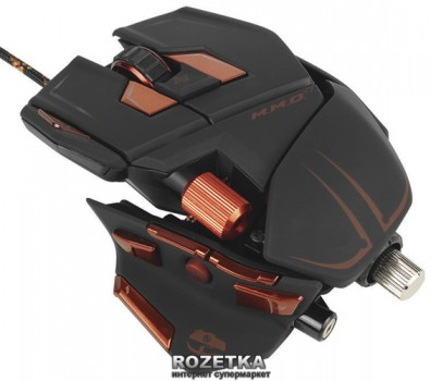 Mad Catz M.M.O. 7 Gaming Mouse (MCB437130002/04/1)