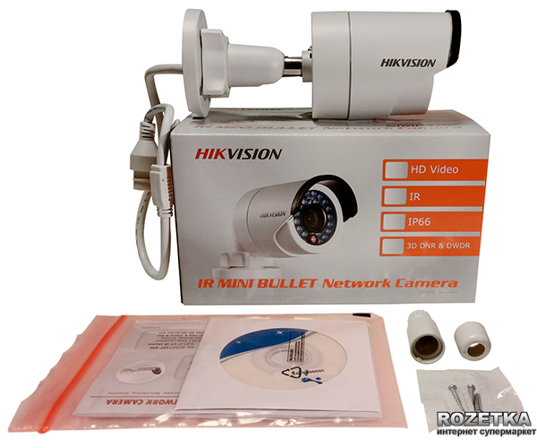 IP камера HikVision DS-2CD2F42FWD-IWS 2.8mm