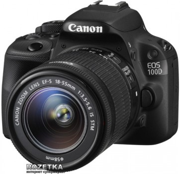 Canon EOS 100D Kit 18-55 IS STM (8576B025)