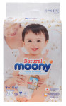 Подгузники Moony Natural L 9-14 кг 54 шт (4903111213900)