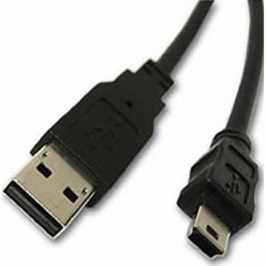 Дата кабель USB 2.0 AM to Mini 5P, 0.8m Atcom 3793