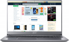 Ноутбук Acer Swift 3 SF315-52G-33A3 (NX.GZAEU.037) Sparkly Silver