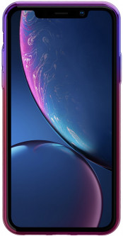 Панель Baseus Glow для Apple iPhone Xr Gradient Black (WIAPIPH61-XG01)