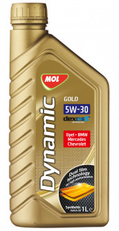 Моторное масло MOL Dynamic Gold 5W-30 1л