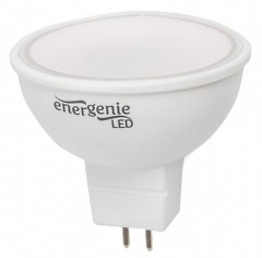 Светодиодная лампа Energenie MR16 5W 4000K 220V GU5.3 (EG-LED5W-MR16K40-01)
