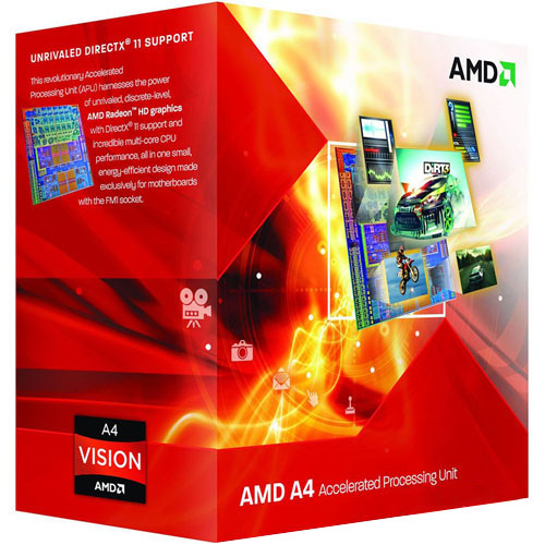 Процессор AMD A4-4020 3.2GHz/5000MHz/1MB Socket FM2+ (AD4020OKHLBOX) BOX