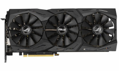 Asus PCI-Ex GeForce RTX 2060 ROG Strix 06G Gaming OC 6GB GDDR6 (192bit) (1860/14000) (2 x DisplayPort, 2 x HDMI 2.0b) (ROG-STRIX-RTX2060-O6G-GAMING )
