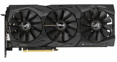 Asus PCI-Ex GeForce RTX 2060 ROG Strix 6G Gaming 6GB GDDR6 (192bit) (1680/14000) (2 x DisplayPort, 2 x HDMI 2.0b) (ROG-STRIX-RTX2060-6G-GAMING)