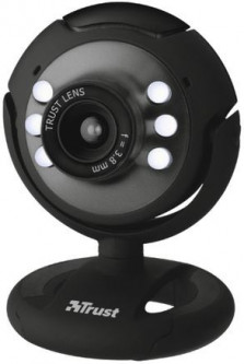 Trust Spotlight Webcam Black (16429)