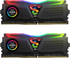 Оперативная память GeIL DDR4-2666 16384MB PC4-21300 (Kit of 2x8192) Super Luce Black RGB Sync (GLS416GB2666C16ADC)