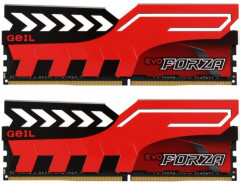 Оперативная память GeIL DDR4-3000 16384MB PC4-24000 (Kit of 2x8192) Evo Forza Red (GFR416GB3000C16ADC)