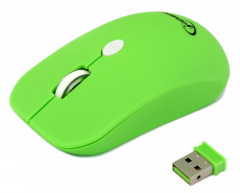 Мышь Gembird MUSW-102-G Wireless Green