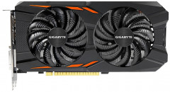 Gigabyte PCI-Ex GeForce GTX 1050 Windforce OC 2GB GDDR5 (128bit) (1392/7008) (DVI, 3 x HDMI, DisplayPort) (GV-N1050WF2OC-2GD)