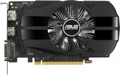 Asus PCI-Ex GeForce GTX 1050 Phoenix 2GB GDDR5 (128bit) (1354/7008) (DVI, HDMI, DisplayPort) (PH-GTX1050-2G)