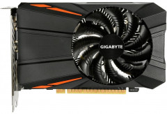 Gigabyte PCI-Ex GeForce GTX 1050 D5 2GB GDDR5 (128bit) (1354/7008) (DVI, HDMI, DisplayPort) (GV-N1050D5-2GD)