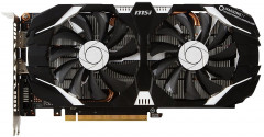 MSI PCI-Ex GeForce GTX 1060 V1 6GB GDDR5 (192bit) (1506/8008) (DVI, HDMI, DisplayPort) (GTX 1060 6GT V1)