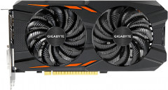 Gigabyte PCI-Ex GeForce GTX 1050 TI Windforce OC 4GB GDDR5 (128bit) (1328/7008) (DVI, 3 x HDMI, DisplayPort) (GV-N105TWF2OC-4GD)