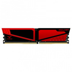 Team DDR4 4GB 2400 MHz T-Force Vulcan Red (TLRED44G2400HC1401)