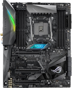 Материнская плата Asus Rog Strix X299-E Gaming (s2066, Intel X299, PCI-Ex16)