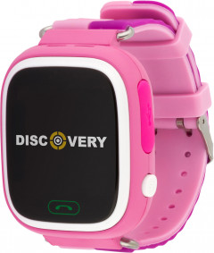 Смарт-часы Discovery iQ4000 Touch GPS Pink