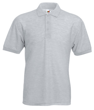 Поло Fruit of the Loom 65/35 Polo 4XL Серо-лиловый (0634020944XL)