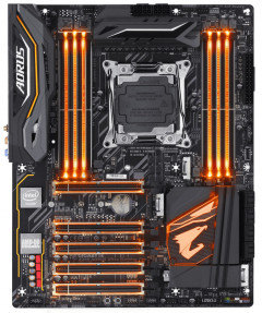 Материнская плата Gigabyte X299 AORUS Ultra Gaming Pro (s2066, Intel X299, PCI-Ex16)
