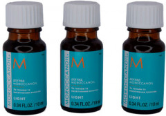 Набор Moroccanoil Set Treatment For Fine and Light-Colored Hair Восстанавливающих масел для ухода за тонкими и осветленными волосами 10 мл х 3 шт (7290019111130)