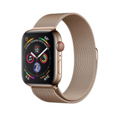 Apple Watch Series 4 GPS+CELLULAR 40mm Gold Stainless Steel Case with Gold Milanese Loop (MTUT2)