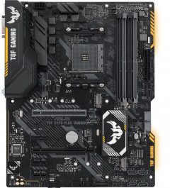 Материнская плата Asus TUF X470-Plus Gaming (sAM4, AMD X470, PCI-Ex16)
