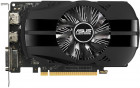 Asus PCI-Ex GeForce GTX 1050 Ti Phoenix 4GB GDDR5 (128bit) (1290/7008) (DVI, HDMI, DisplayPort) (PH-GTX1050TI-4G)