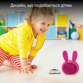 Bluetooth колонка Promate Bunny Pink