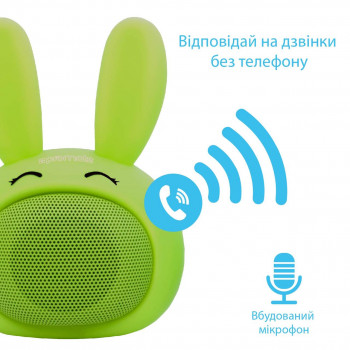 Bluetooth колонка Promate Bunny Green