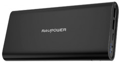 УМБ RAVPower 26800mAh 2020Q4 Upgraded Dual Input Portable Charger Black (RP-PB067)