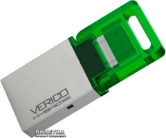 Verico Hybrid Mini 8 GB Green (1UDOV-RIGN83-NN)