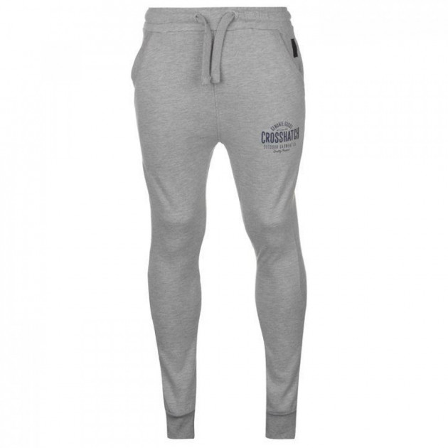 Штаны Crosshatch Seton Joggers Junior Lt Grey Marl, L (10081495)