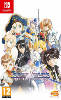 Игра для Nintendo Switch Tales Of Vesperia Definitive Edition