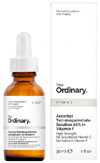 Масло The Ordinary Ascorbyl Tetraisopalmitate Solution 20% Vitamin F 30 мл (769915190618)