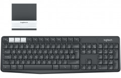 Клавиатура беспроводная Logitech K375s Multi-Device Keyboard Wireless Graphite (920-008184)