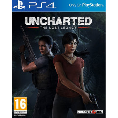 Uncharted Lost Legasy PS4