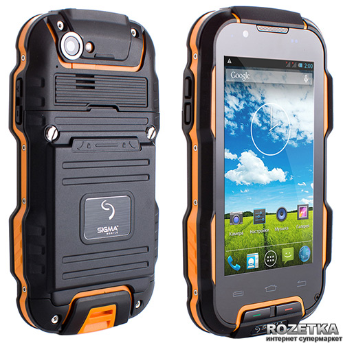 1812b310b41f Rozetka.ua   Sigma mobile X-treme PQ23 Black Yellow. Цена, купить ...