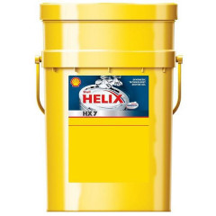 Моторное масло Shell Helix HX7 5W-40 20 л