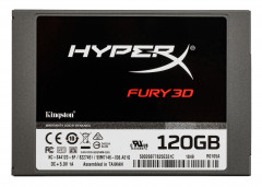 "Kingston SSD HyperX Fury 3D 120GB 2.5"" SATAIII TLC (KC-S44120-6F)"