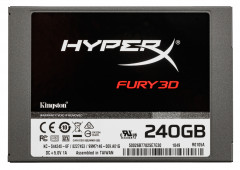 "Kingston SSD HyperX Fury 3D 240GB 2.5"" SATAIII TLC (KC-S44240-6F)"