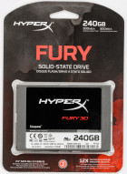 "Kingston SSD HyperX Fury 3D 240GB 2.5"" SATAIII TLC (KC–S44240–6F) - изображение 5"