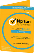 Антивірус Norton Security Deluxe 3.0 для 3 ПК на 2 роки ESD-електронний ключ у конверті (C4526683) - зображення 1