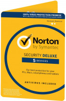 Антивірус Norton Security Deluxe 3.0 для 5 ПК на 2 роки ESD-електронний ключ у конверті (C4526679)
