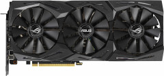 Asus PCI-Ex GeForce RTX 2070 ROG Strix Gaming OC 8GB GDDR6 (256bit) (1410/14000) (USB Type-C, 2 x HDMI, 2 x DisplayPort) (ROG-STRIX-RTX2070-O8G-GAMING)